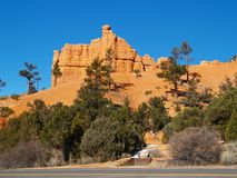 Sandstone Formations In Red Canyon Royalty Free Stock Photo