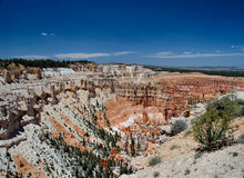 Sandstone grottoes of Bryce Canyon. Utah Royalty Free Stock Photo