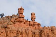 Sandstone Heads Stock Image