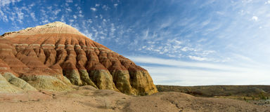 Sandstone hill royalty free stock photography