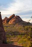 Sandstone Hill at Papago Park Stock Photo