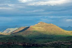 Sandstone hills Stock Image
