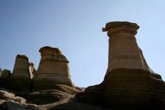 Sandstone hoodoos Royalty Free Stock Image