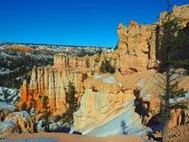 Sandstone Hoodoos Stock Images