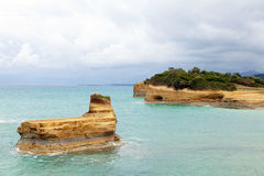 Sandstone island Stock Photography