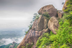 Sandstone -Lingshan Shangrao Royalty Free Stock Photos