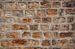 Sandstone masonry texture Stock Photos