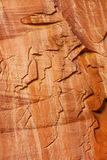 Sandstone Mountain People Abstract Capitol Reef National Pa Stock Image