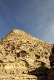 Sandstone mountains, Jordan Stock Image