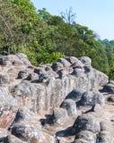 Sandstone node cliff Stock Photography