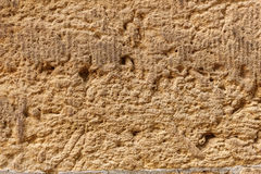 Sandstone old wall structure background texture Stock Photo