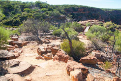 Free Sandstone Path To Z-Bend Lookout Royalty Free Stock Photos - 73446418