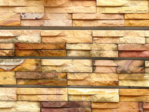 Sandstone pattern. A photo of sandstone pattern. The sandstone bricks seamless of house wall. Pattern continuous replication for texture and background royalty free stock photos