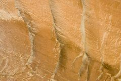 Sandstone patterns 5. Natural patterns in the sandstone walls along the Fremont river in Capital Reef National Park in Utah, USA Stock Image