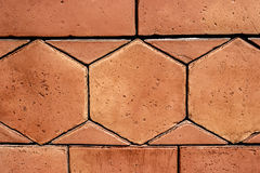 Sandstone for paving in the house Stock Image