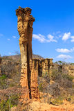 Sandstone pile in an African wild landscape Royalty Free Stock Photo
