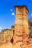 Sandstone pile in an African wild landscape Royalty Free Stock Photos