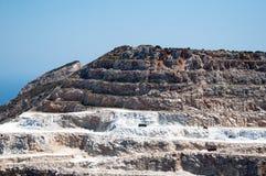 Sandstone quarry Royalty Free Stock Photo