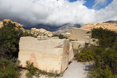 Sandstone Quarry-Red Rock Canyon NCA stock image