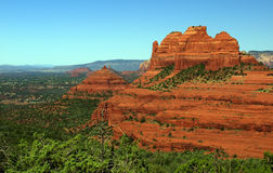 Sandstone red scenic nature landscape, usa Royalty Free Stock Photos