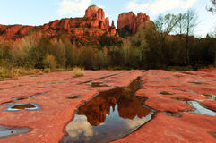 Sandstone Reflections Stock Images