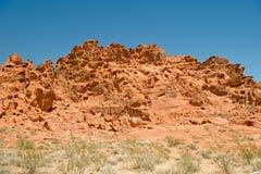 Sandstone ridge in desert Royalty Free Stock Photography