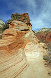 Sandstone Ridge in Red Rocks Country Stock Images