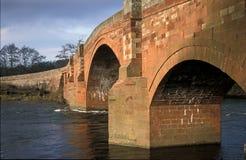 Sandstone road bridge Stock Image