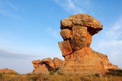 Sandstone rock formation Stock Photos