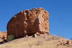 Sandstone rock formation - Namibia Stock Photo