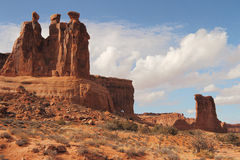 Sandstone rock formations Stock Photos