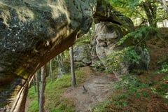 Sandstone rock gate Stock Photo