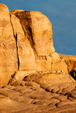 Sandstone Rock in Provence, France Stock Photography