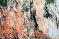 Sandstone rock in Thailand Stock Photos