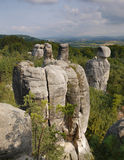 Sandstone rock tower. Stock Image