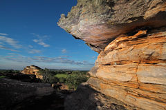 Sandstone rock, Ubirr Stock Images