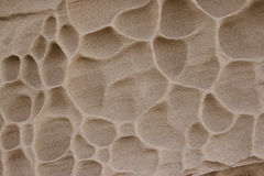 Sandstone rock wall Royalty Free Stock Images
