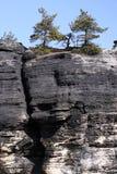 Sandstone rocks Royalty Free Stock Images
