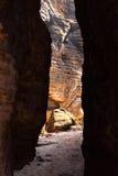Sandstone rocks Stock Images
