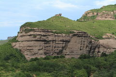 Sandstone Rocks of Chengde in China Stock Images