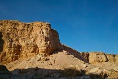 Sandstone rocks in the desert Royalty Free Stock Image