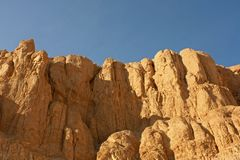 Sandstone rocks in desert Royalty Free Stock Photography