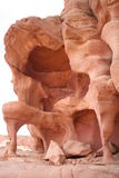 Sandstone rocks in the Sinai Desert Stock Photos
