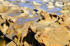 Sandstone Sculptures Stock Photo