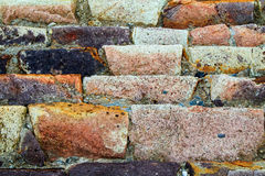 Sandstone Sea Wall Royalty Free Stock Images