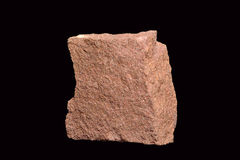 Sandstone. Sedimentary rock, varying in color. Shows appearance of grains of sand accumulation Stock Photography
