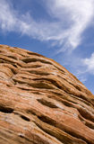 Sandstone and Sky Royalty Free Stock Photo