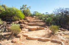 Sandstone Stairs: Z-bend, Kalbarri National Park Stock Images