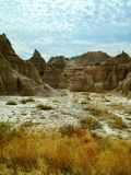 A Walk Through The Badlands stock photo