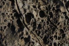 Sandstone surface Stock Images